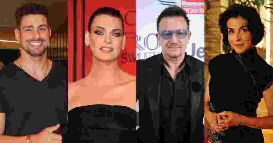 Taurinos são sensuais e sensíveis; veja famosos do signo - Photo Rio News/ Getty Images/Divulgação/TV Globo