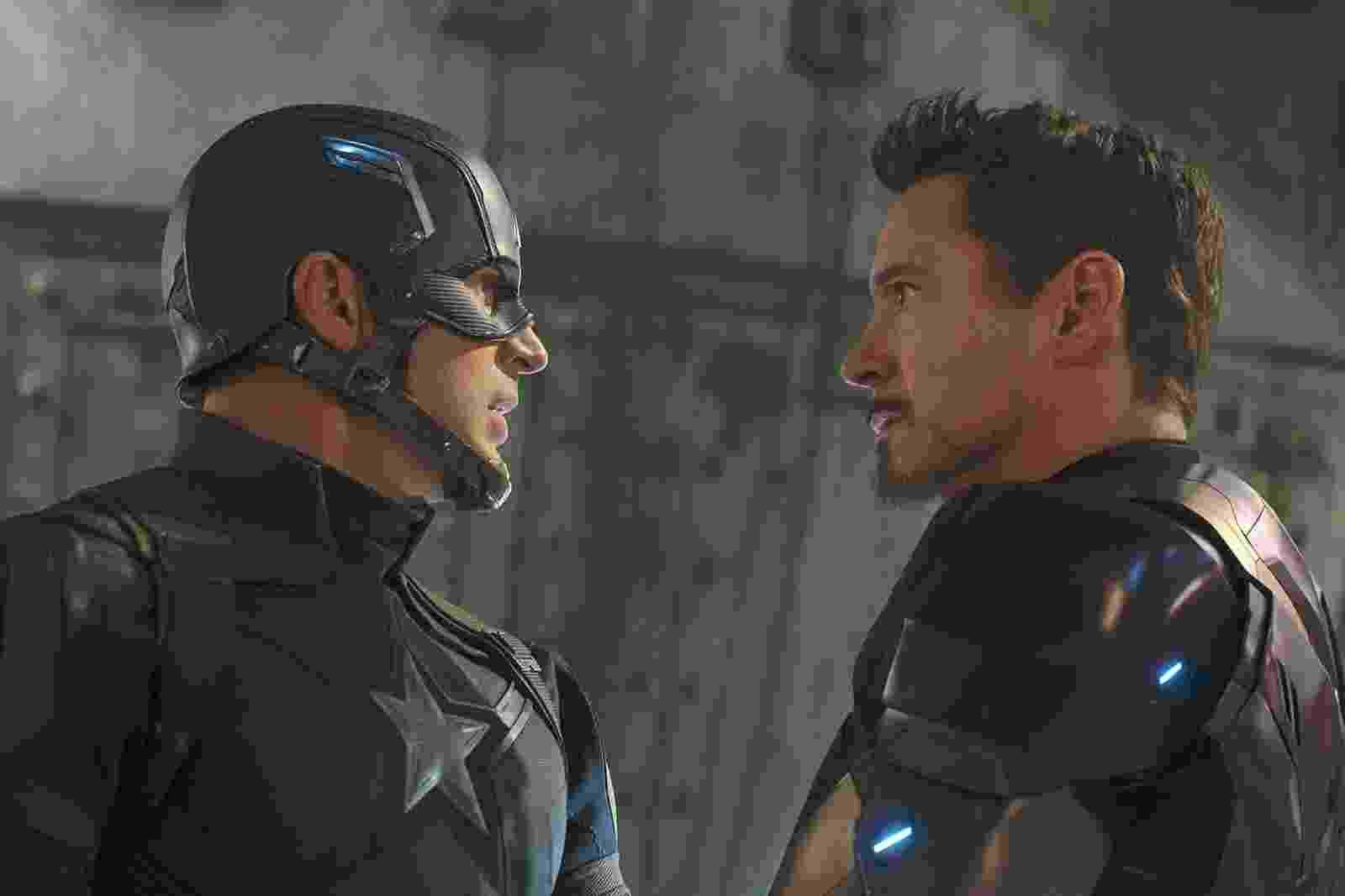 """Cena do filme """"Capitão América: Guerra Civil"""" - Divulgação"""