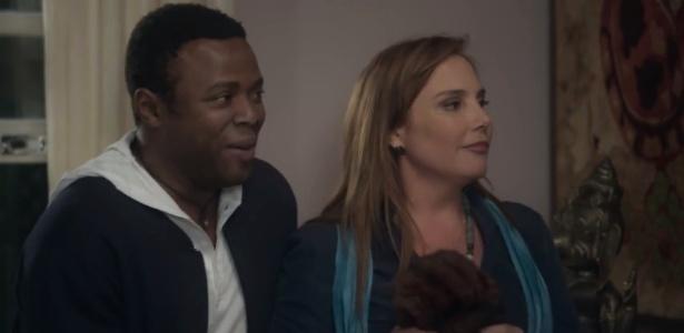 """Érico Brás e Heloisa Périssé em cena de """"A Lei do Amor"""", novela das nove da Globo - Reprodução/TV Globo"""