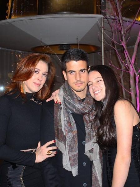 Claudia Raia com os filhos Enzo e Sophia - Instagram/Claudia Raia
