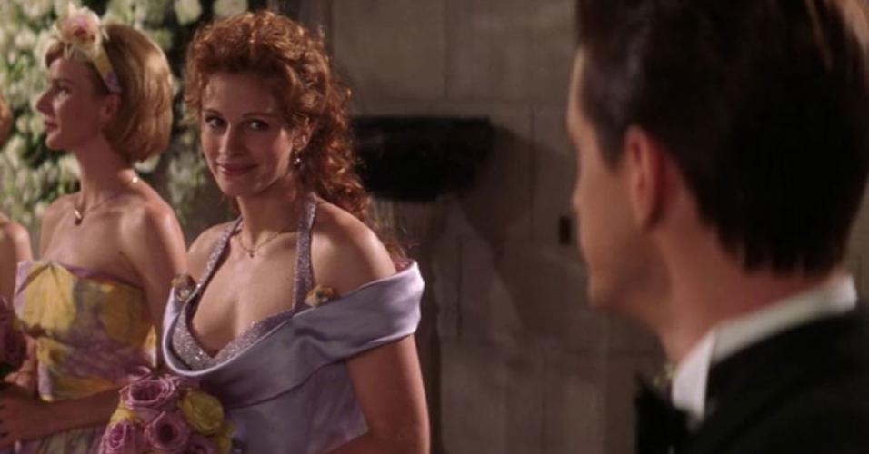 """Cena do filme """"O Casamento do Meu Melhor Amigo"""" (1997), de P.J. Hogan"""