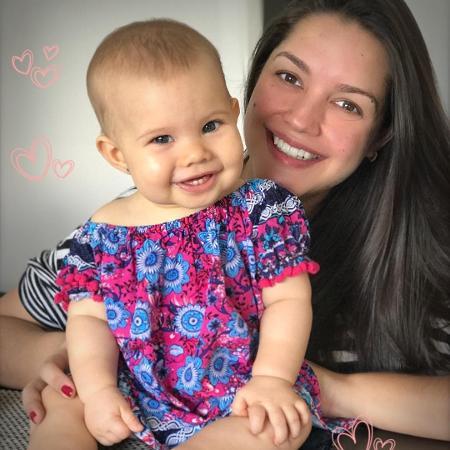 Thais Fersoza com a filha, Melinda  - Reprodução/Instagram