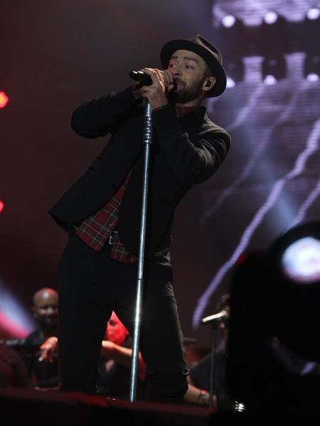 Justin Timberlake encerra o primeiro fim de semana do Rock in Rio com show no Palco Mundo - Marcello Sá Barretto/AgNews