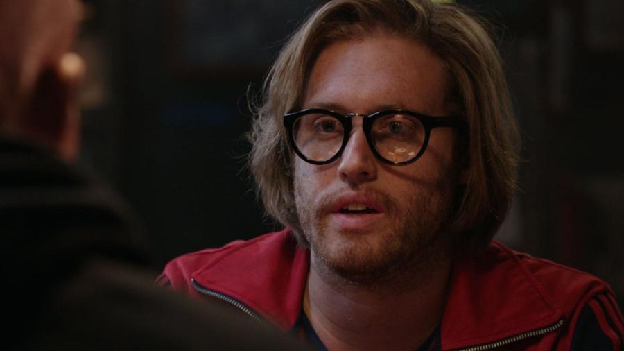 """O ator T.J. Miller em cena de """"Deadpool"""" - Reprodução"""