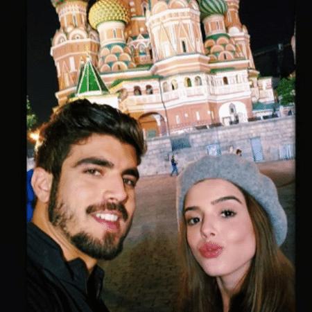 Giovanna Lancellotti e Caio Castro na Rússia - Reprodução/Instagram