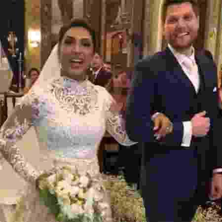 A ex-BBB Amanda Djehdian se casa com o empresário Mateus Hoffmann  - Reprodução/Instagram/cauegarcia - Reprodução/Instagram/cauegarcia