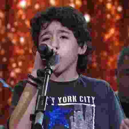 Aos 10 anos, Enzo Rabelo ultrapassa a marca de 11 milhões de visualizações com vídeo no Youtube - Reprodução/Globo - Reprodução/Globo