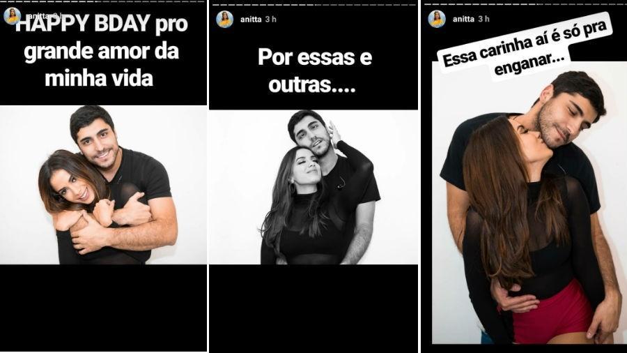 Anitta se declara para o marido,  Thiago Magalhães - Reprodução/Instagram