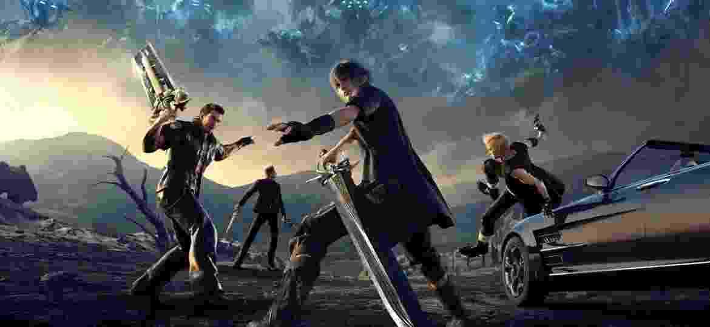 Final Fantasy XV - Reprodução