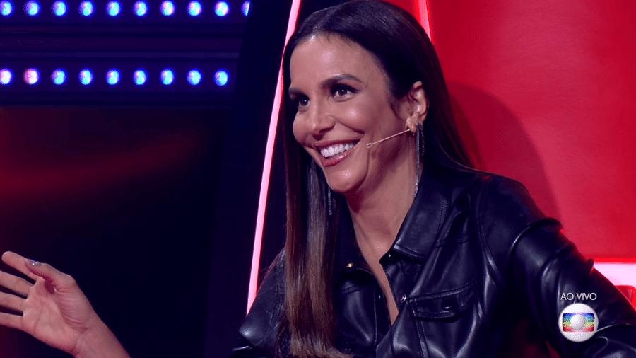 """Ivete Sangalo faz brincadeira no """"The Voice Brasil"""" - Reprodução/TV Globo"""