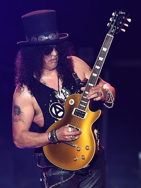 O guitarrista Slash volta ao Brasil para oito apresentações de turnê solo - Kevin Winter/Getty Images