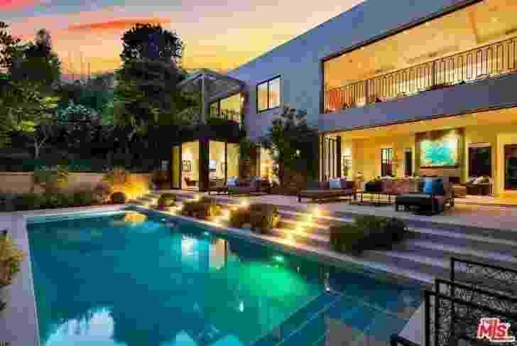 Detalhes da nova mansão de Kylie Jenner e Travis Scott em Beverly Hills - Reprodução/TMZ/MLs.com