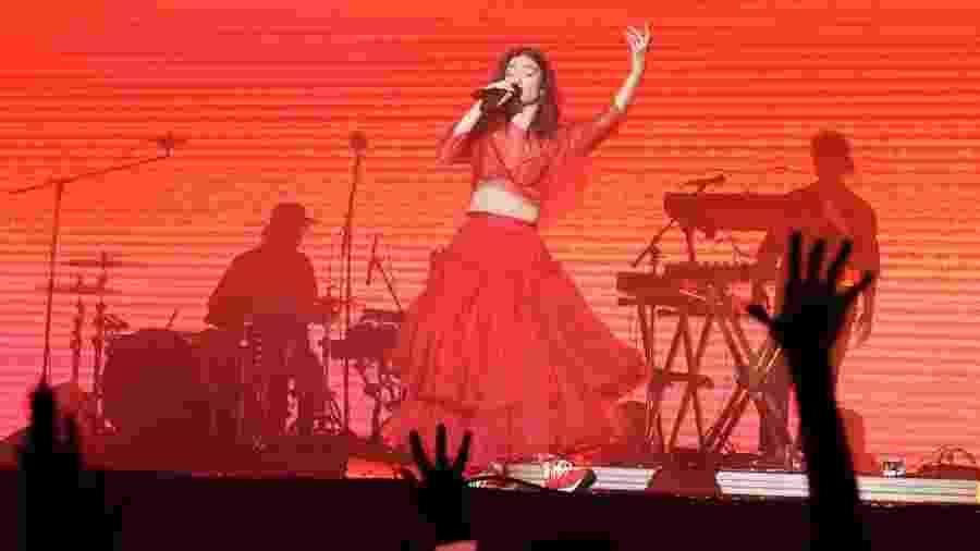 Lorde no Popload Festival, em São Paulo, em 2018 - Felipe Gabriel/UOL
