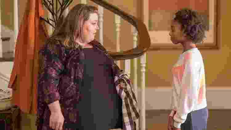 """Tess e Kate em cena do episódio mais recente de """"This is Us"""" - Divulgação - Divulgação"""