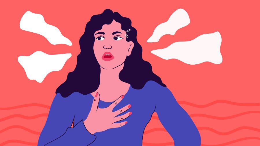Na maioria das vezes a falta de ar está relacionada à falta de condicionamento físico e não a uma doença -  Camila Rosa/VivaBem