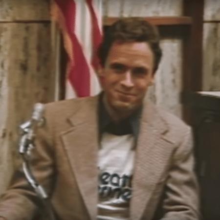 O serial killer Ted Bundy, que confessou ao menos 30 mortes nos EUA - Reprodução/Youtube