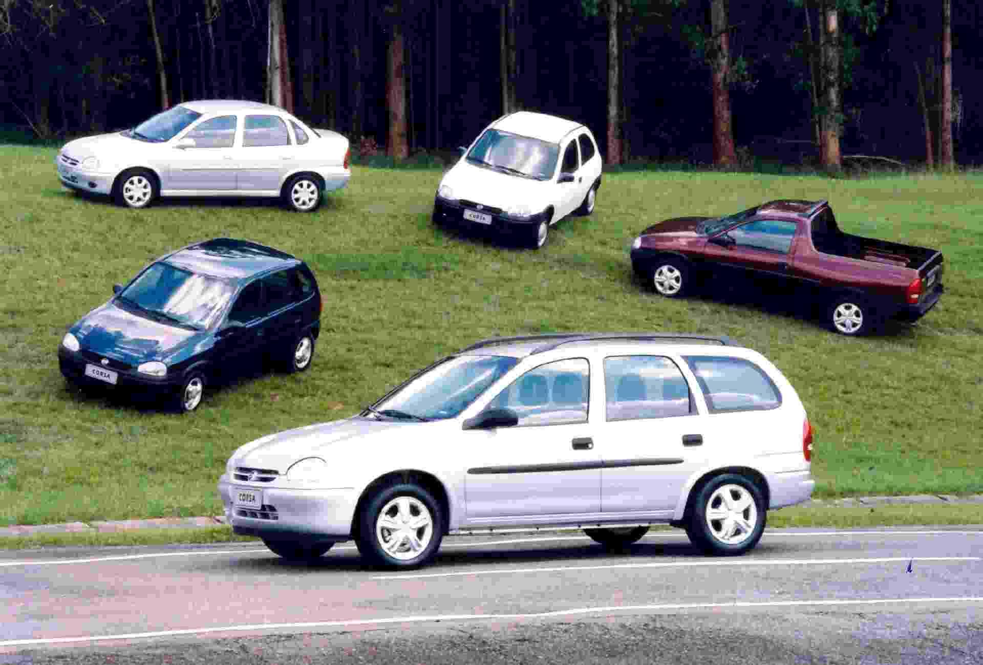 Linha Corsa - Reprodução/MIAU - Museu da Imprensa Automotiva