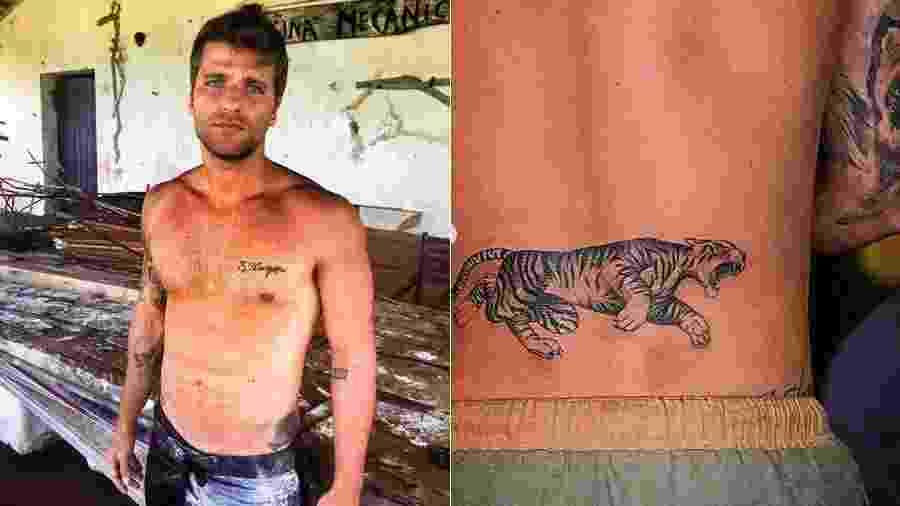 Bruno Gagliasso faz nova tatuagem - Reprodução/Instagram
