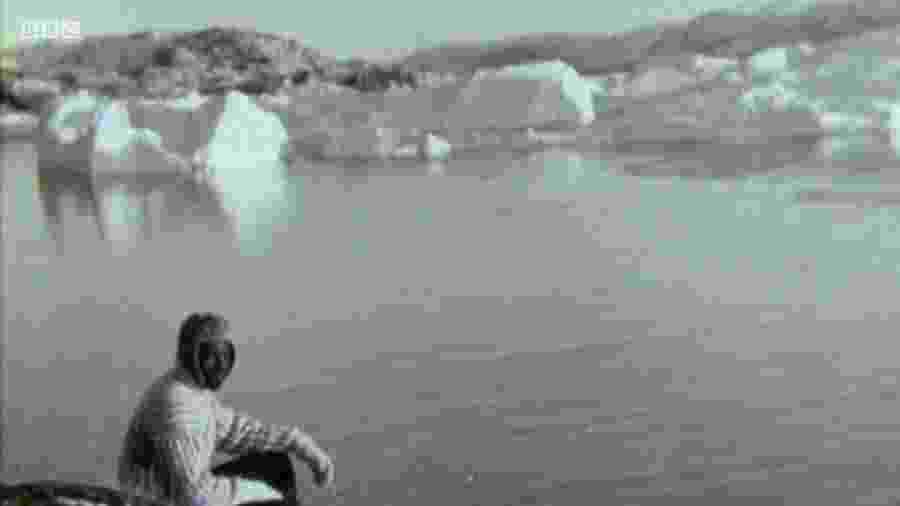 Tété-Michel Kpomassie resolveu deixar seu país natal, o Togo, e ir para a Groenlândia - BBC