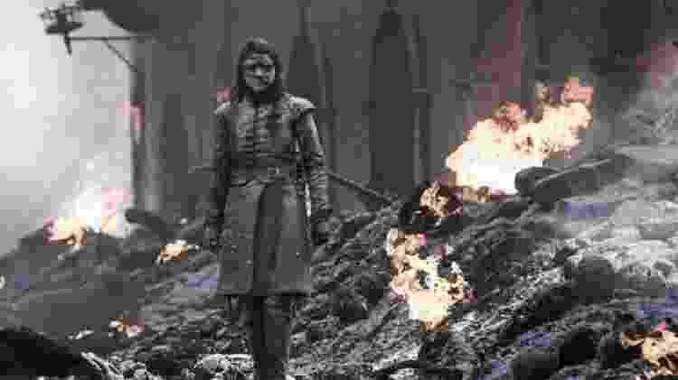 O nome de Arya Stark é um dos mais falados pelas personagens mulheres - HBO/Sky Atlantic - HBO/Sky Atlantic