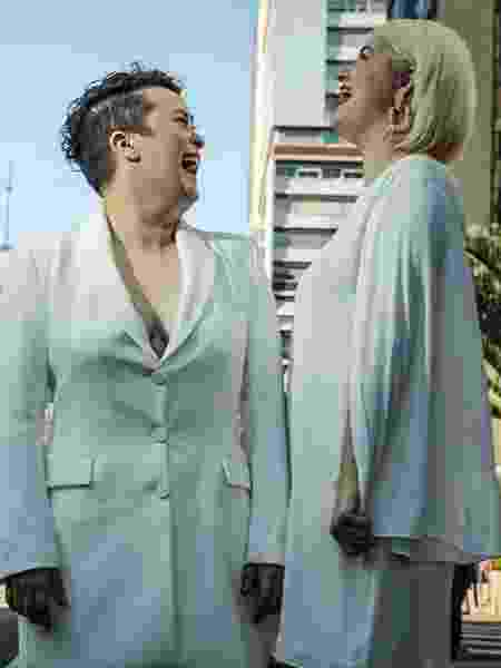 Casadas, Jaqueline e Nayda vão embarcar em um trio elétrico e curtir a Parada do Orgulho LGBTQ+ de São Paulo ao lado da família - Jardiel Carvalho/UOL - Jardiel Carvalho/UOL