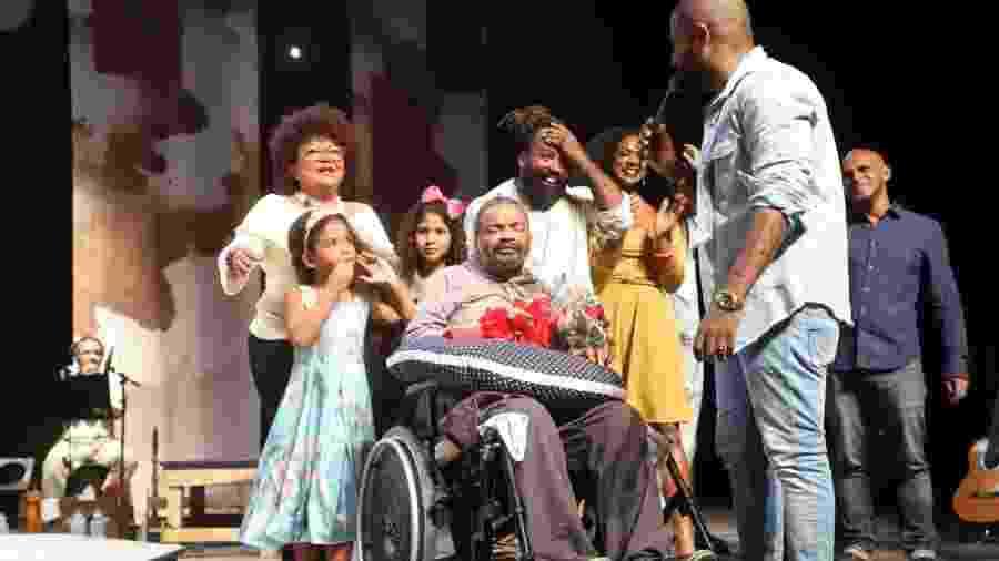 Arlindo Cruz vai à estreia de peça em sua homenagem no Rio - Daniel Pinheiro/AgNews