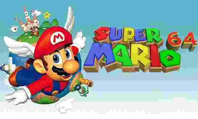 Super Mario 64 - Reprodução - Reprodução