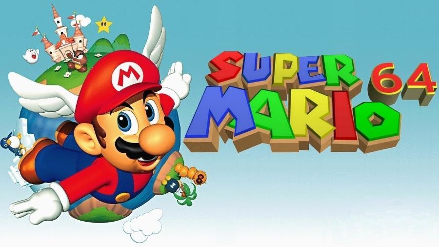 Super Mario 64 - Reprodução