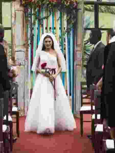 Casamento de Maria da Paz, em A Dona do Pedaço - Reprodução/TV Globo