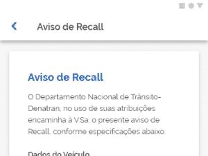 Carteira Nacional de Trânsito CRLV digital alerta recall - Divulgação - Divulgação