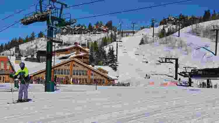 Paisagem na estação de esqui de Deer Valley - Marcel Vicenti/UOL - Marcel Vicenti/UOL