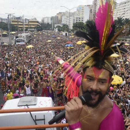 """Bloco Então, Brilha! estará no evento """"Derrete BH, festa de ressaca do Carnaval"""" - Alexandre Rezende/UOL"""