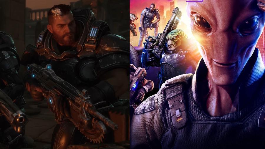 Gears Tactics e XCOM Chimera Squad serão lançados em abril - Reprodução
