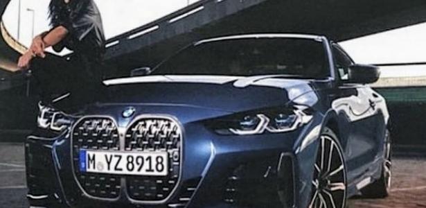 Carros | Novo BMW Série 4 vaza e confirma uso de grade dupla gigante