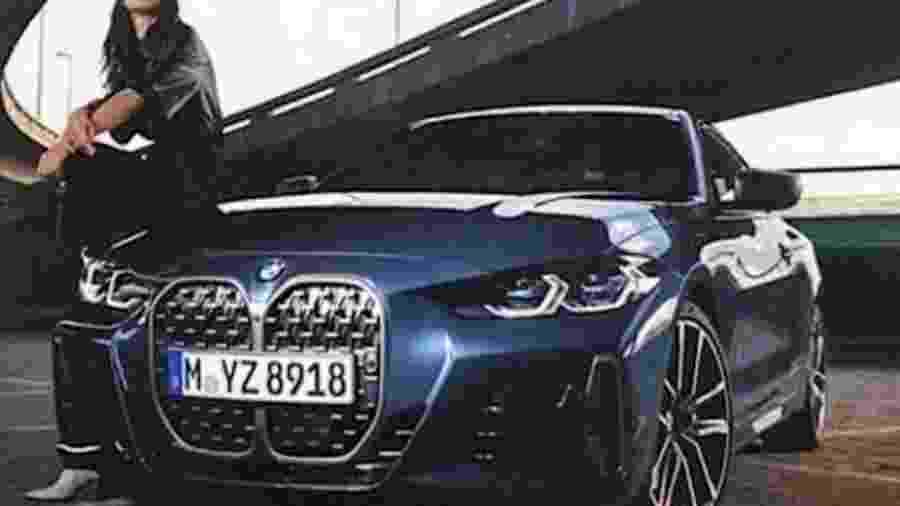 Imagem vazada do BMW Série 4 2021 - Reprodução