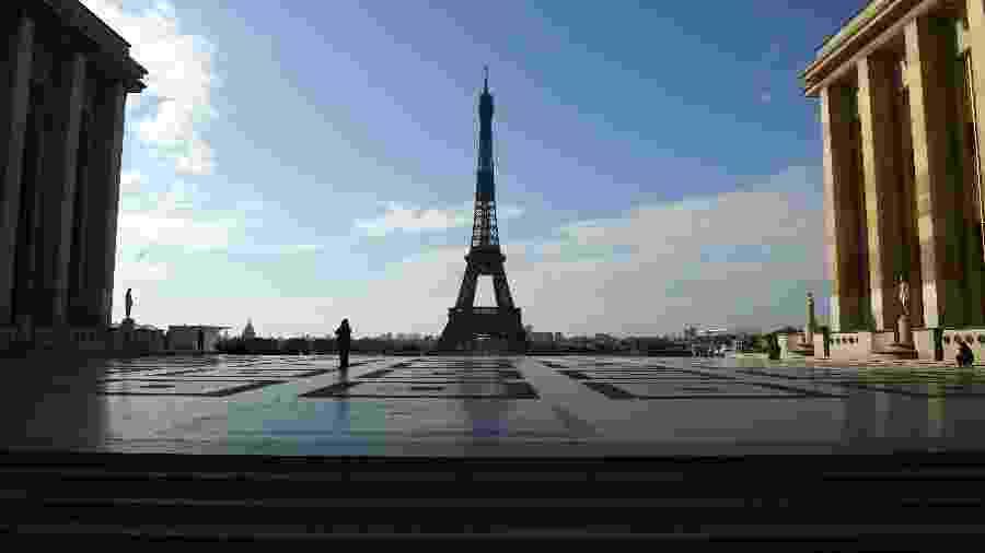 Ainda sem turistas e com proteção contra o coronavírus, Torre Eiffel reabre nesta quinta 25 - Getty Images
