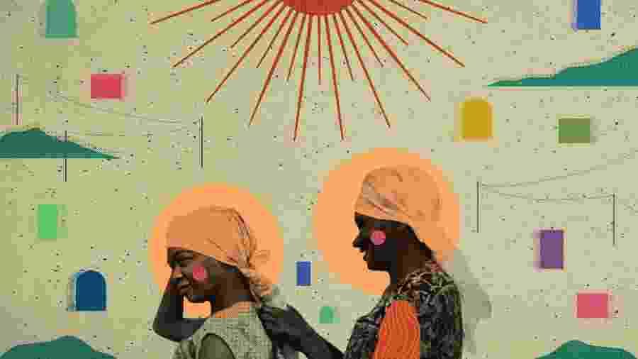 Ilustração de uma das reportagens premiadas de Ecoa - Arte/UOL
