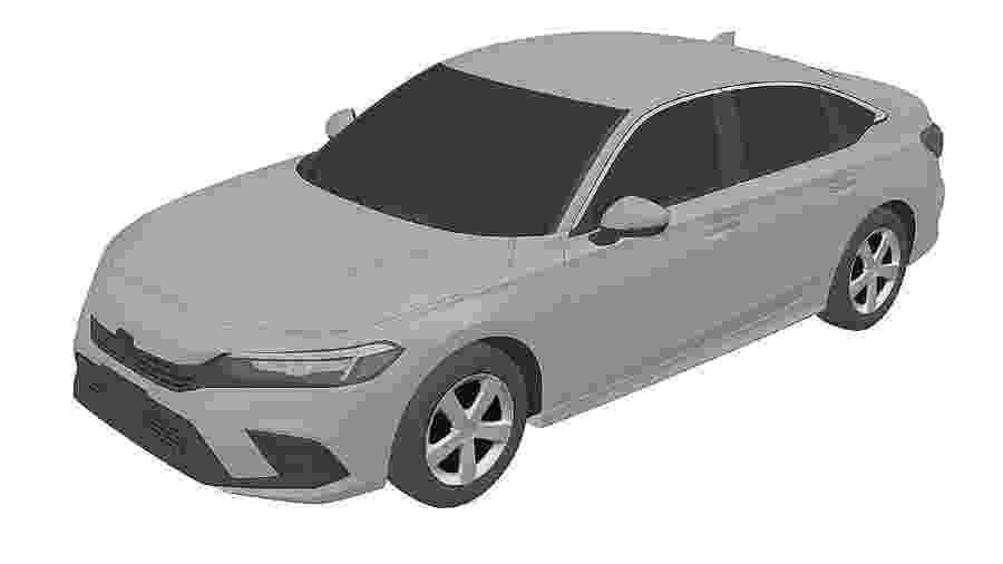 Honda Civic 2022 - Reprodução