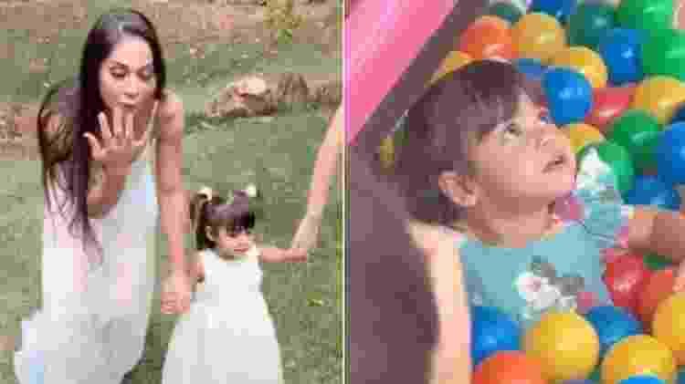 Sophia, filha de Arthur Aguiar e Mayra Cardi - Reprodução/Instagram - Reprodução/Instagram
