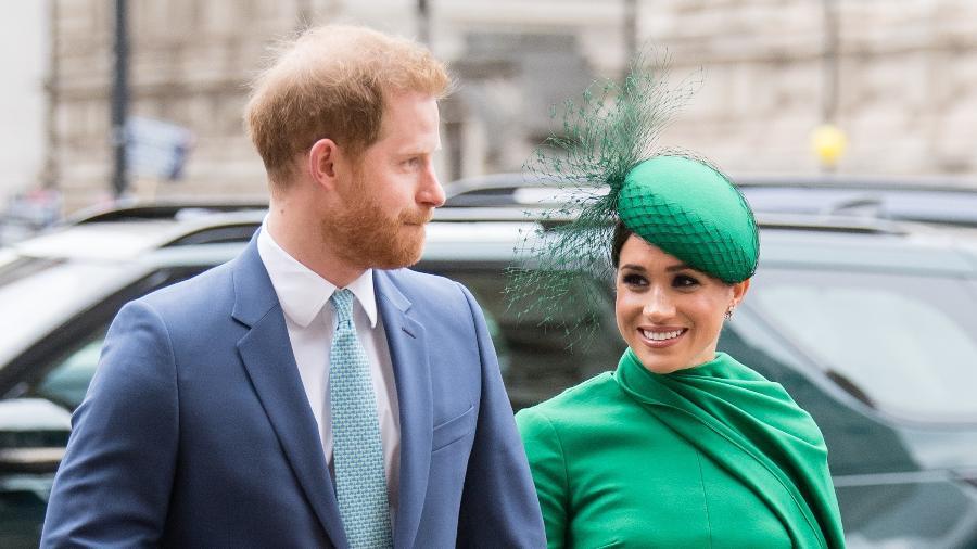 Príncipe Harry e Meghan Markle em Londres - Samir Hussein / WireImage