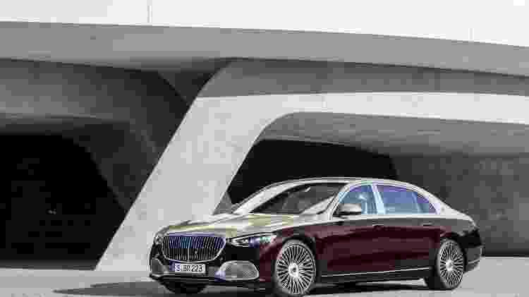 Mercedes Maybach Classe S 2021  - Divulgação - Divulgação