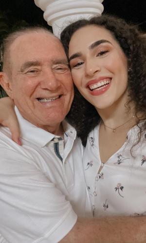 Renato Aragão a filha, Lívian