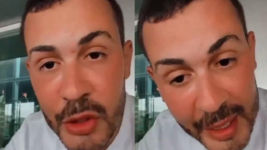 Carlinhos Maia apagou vídeo após a publicação - Reprodução/Instagram