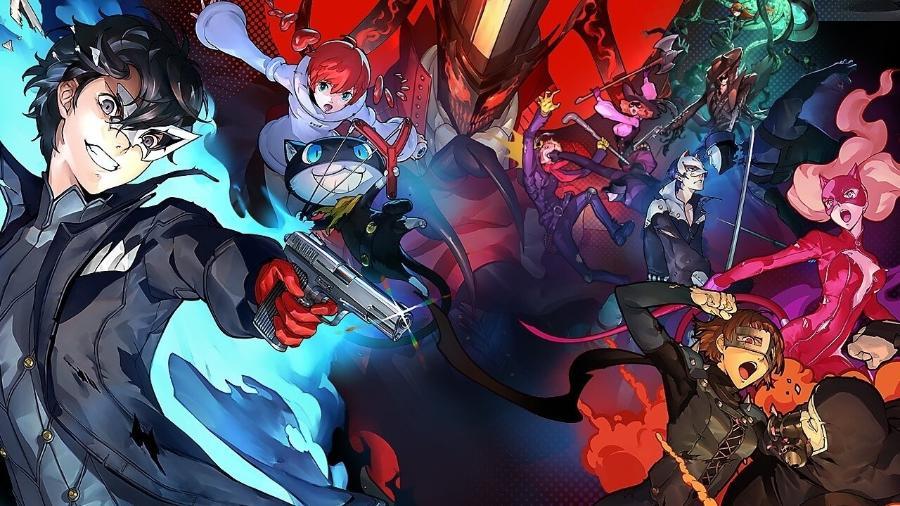 Persona 5 - Reprodução