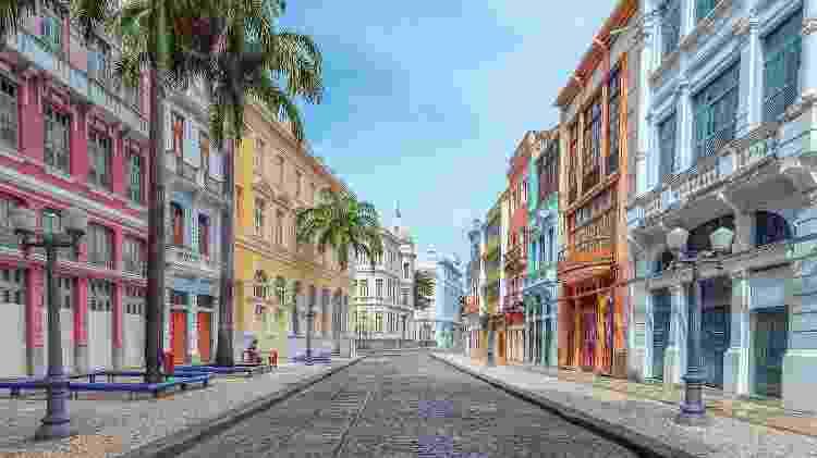 Rua do Bom Jesus, Recife - Getty Images/iStockphoto - Getty Images/iStockphoto