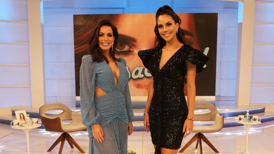 Carla Prata e Daniela Albuquerque - Divulgação/RedeTV!