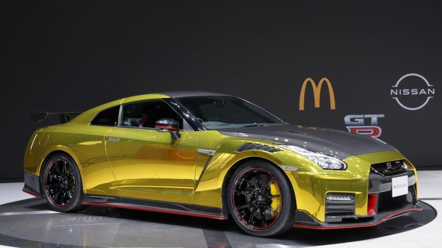 """Nissan GT-R  McDT-R  McDonald""""s - Divulgação"""