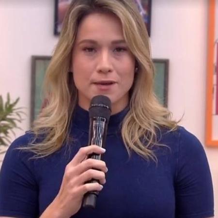 """Fernanda Gentil abre o """"Se Joga"""" lamentando as 500 mortes por covid-19 no Brasil - Reprodução/Globo"""
