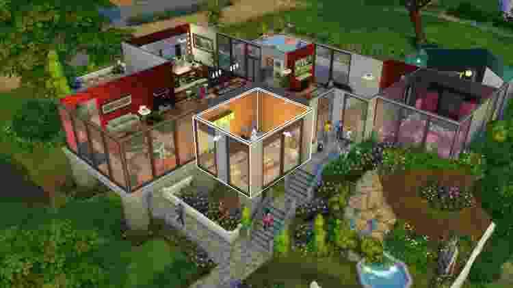 The Sims 4 Casa - Divulgação - Divulgação