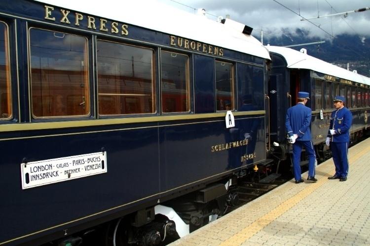 Orient Express matéria viagem de trem